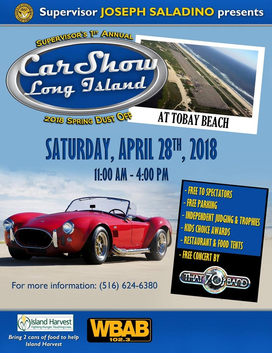 Car Show Long Island Tobay Beach 2018