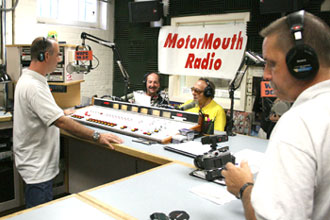 In The MMR Studios with George Barris
