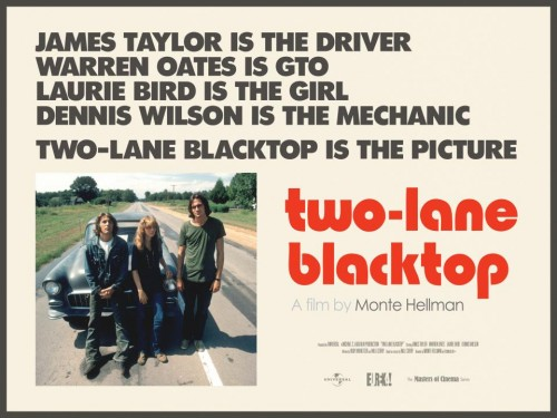 Two-Lane Blacktop Movie Poster
