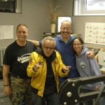 George Barris with Ray and Chris